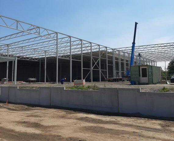 GS Staalwerken realiseerde het tweede Foodpark Veghel nadat we een jaar geleden de eerste bouwden.