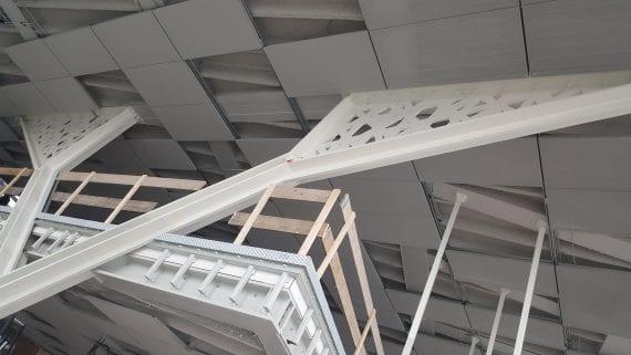 Amvest hoofdkantoor was een speciale constructie die werd uitgevoerd door GS Staalwerken Moeskops.
