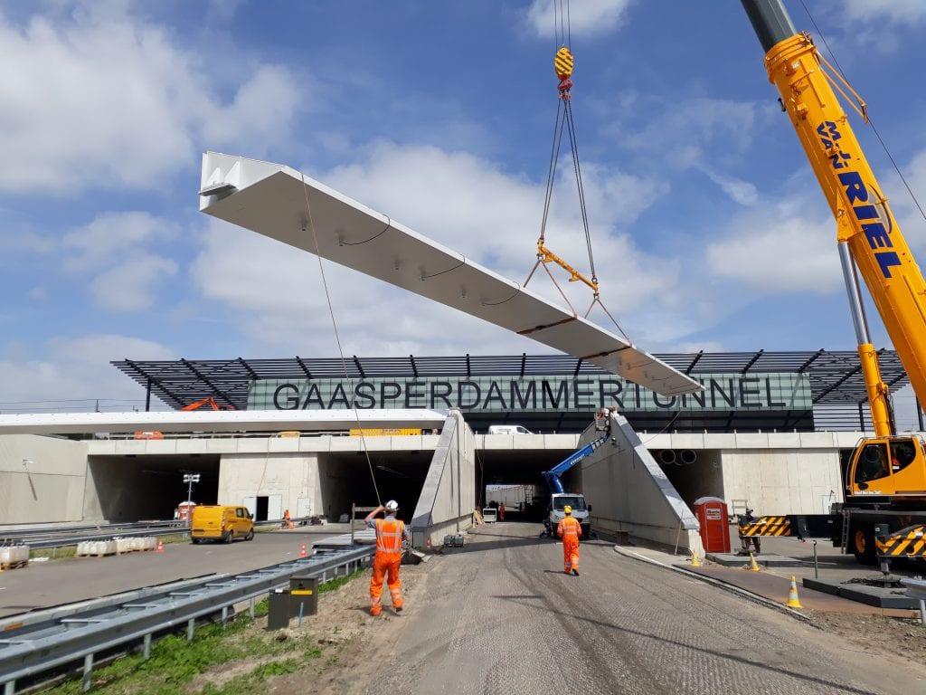GS Birkhoff Staalwerken realiseert verkeersportalen.